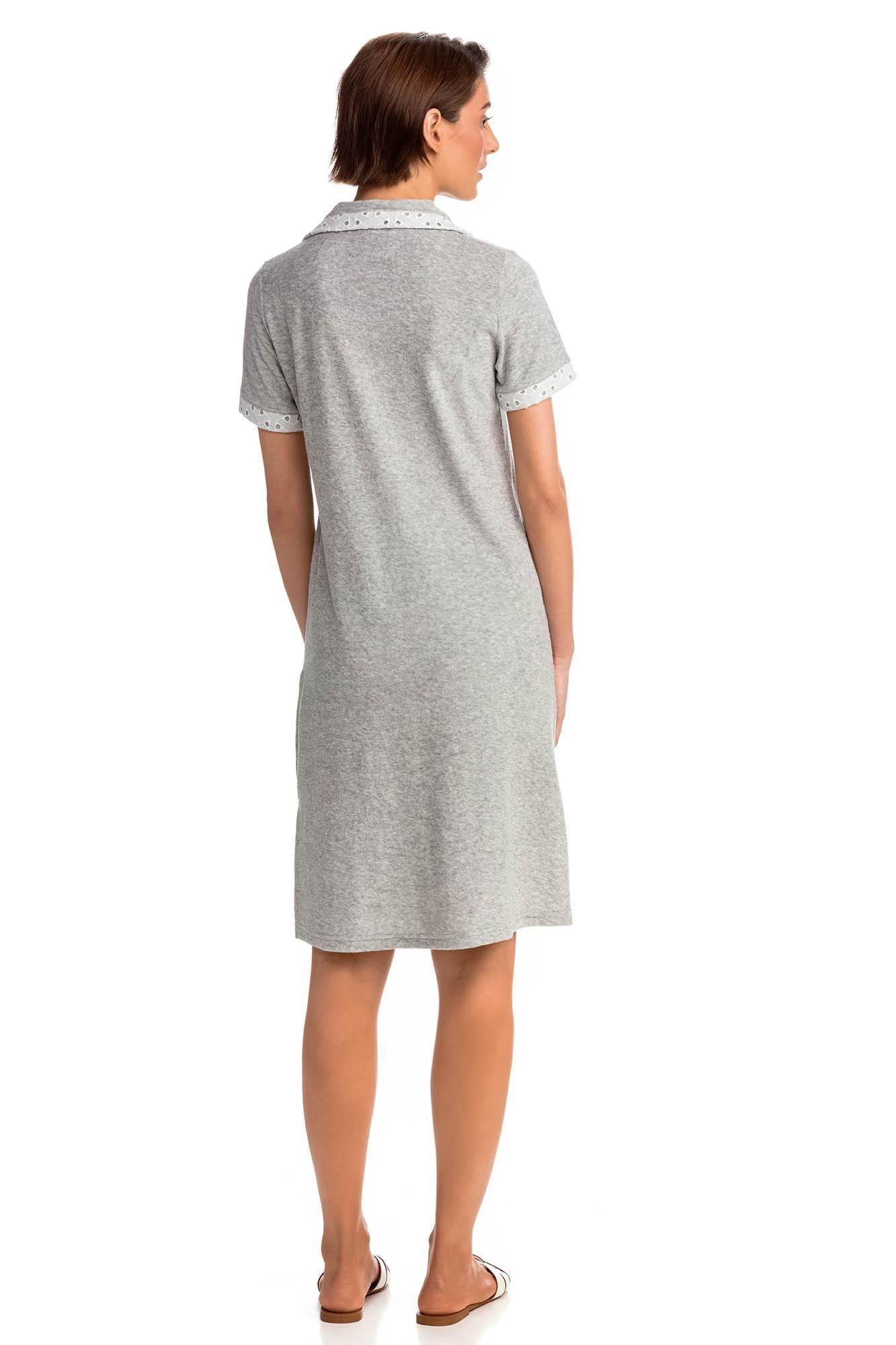 Φόρεμα Πετσετέ με Φερμουάρ