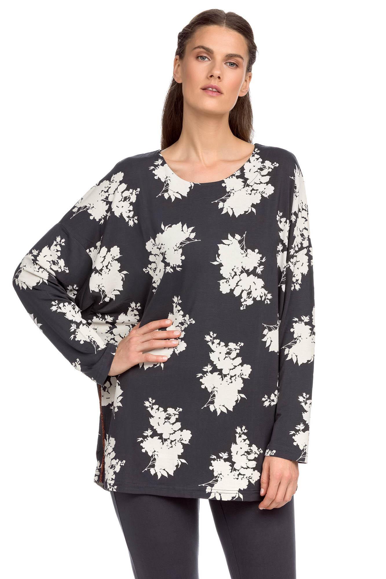 Women's Floral Pyjamas Plus Size