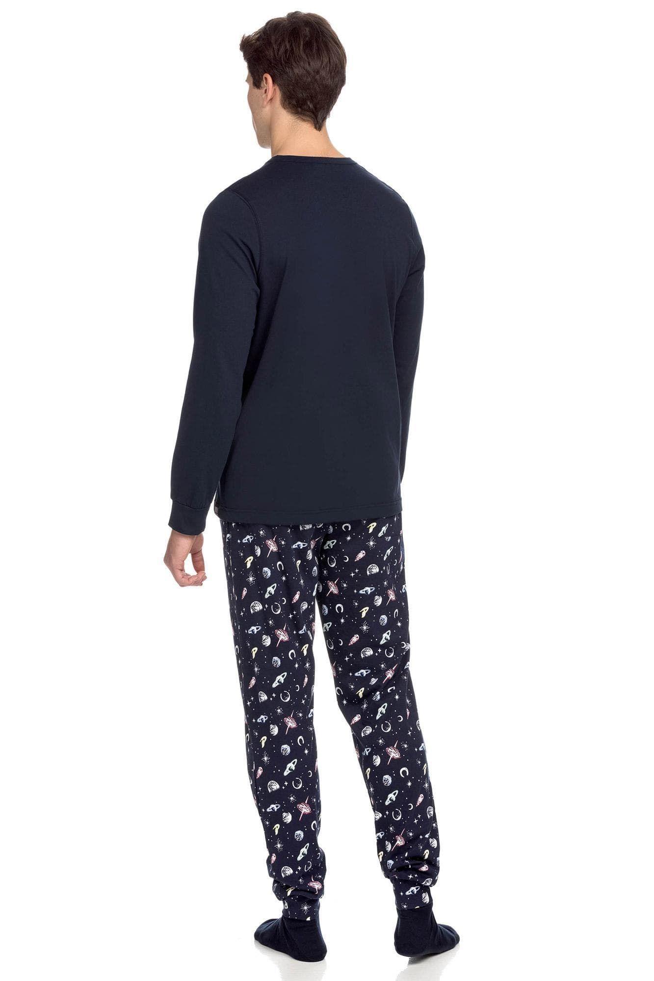 Men's Pyjamas with planets