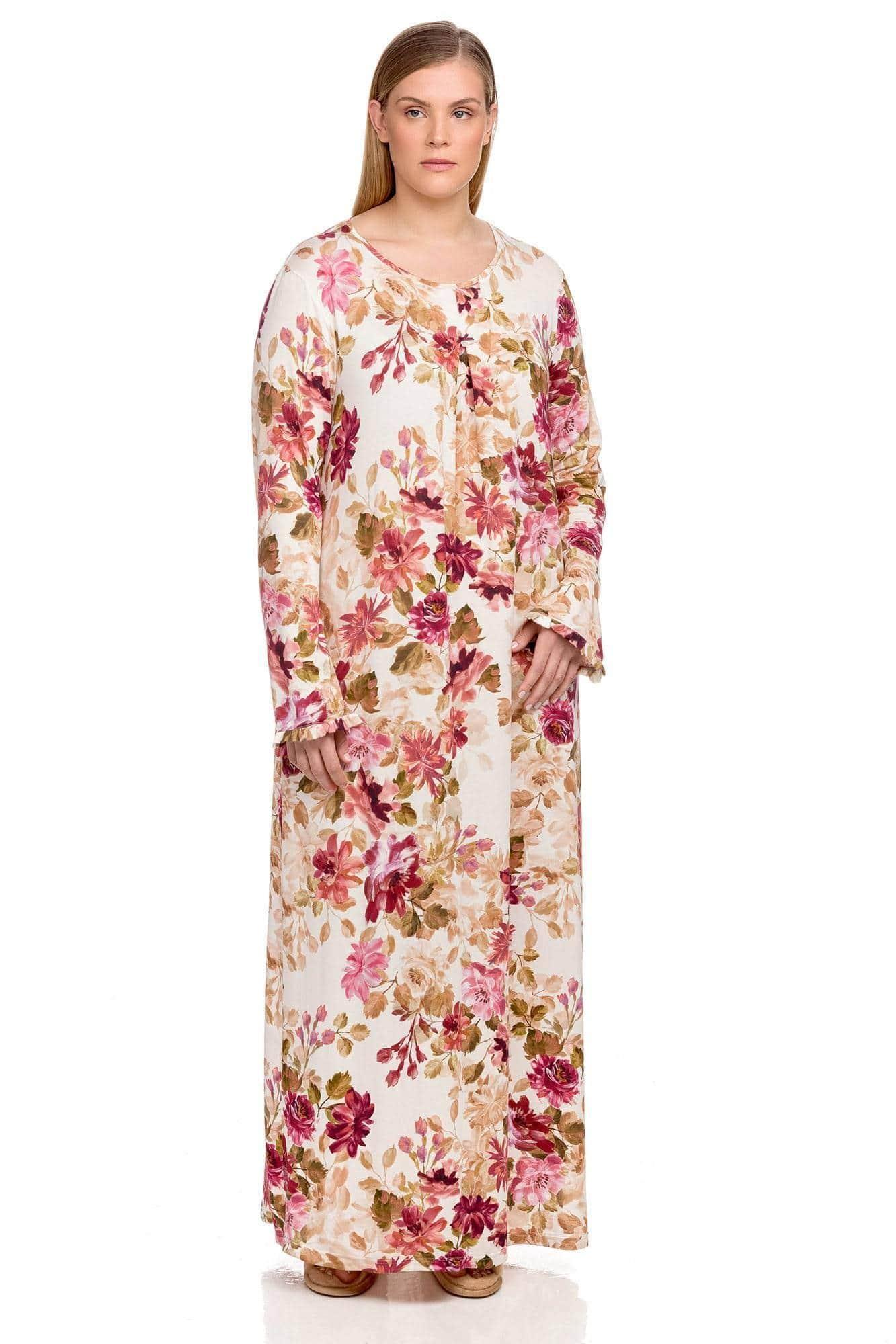 Women's long fit nightgown
